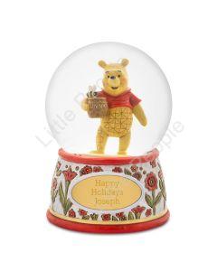 Jim Shore Pooh SnowGlobe Figurine Disney Traditions last 2