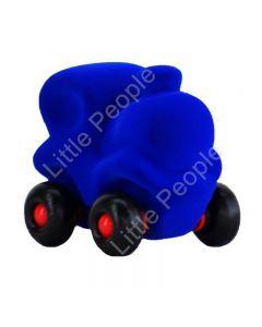 Rubbabu The Little Choo-Choo Train Blue Infant Pretend Play