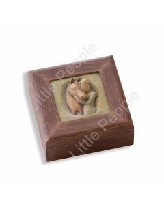 Willow Tree - Quiet Strength Memory Box 26638 Christmas Gift Figurine