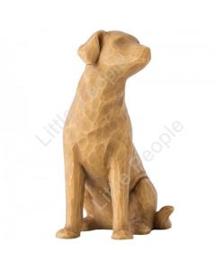 Willow Tree - Figurine Love My Dog (Light) Collectable Gift