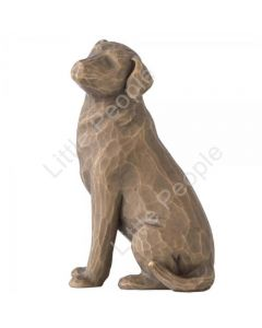Willow Tree - Figurine Love My Dog (Dark) Collectable Gift