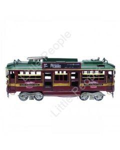 Melbourne City circle tram 34cm Tin