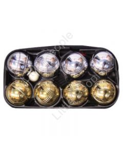BUFFALO SPORTS MIXED CHROME BOULE SET - SET OF 8 CHROME BALLS