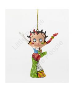 Betty Boop By Britto Strikes A Pose Ornament 4046450 Retired