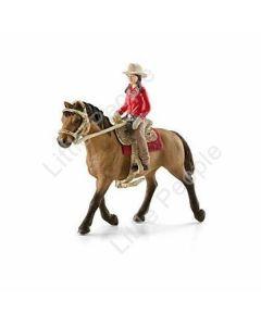 Schleich Farm - WESTERN RIDER Figure & Horse SET - 42112