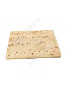 Wooden Toys Lower Case Letter Tracing board