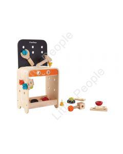 Plan Toys - Wooden Workbench play pretend