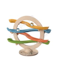 Plan Toys -Curvy Click Clack made from Sustainable material