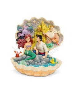 Jim Shore Disney Traditions - The Little Mermaid in Shell Scene  Scenario