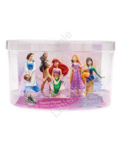 Disney Princess Figure Play Set 5 piece playset new Genuine