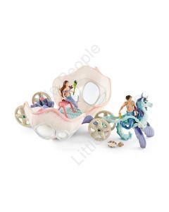 Schleich Bayala Mermaids Royal Seashell Carriage Toy Figure