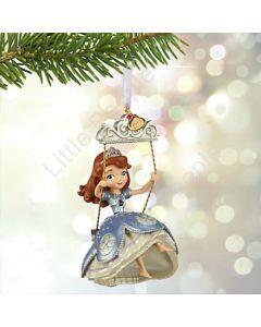 Disney Sofia The First Sketchbook Christmas Holiday Ornament Rare Retired