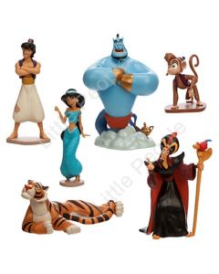 Disney Aladdin Figurine Set  6 piece Figure Play Set/Cake toppers
