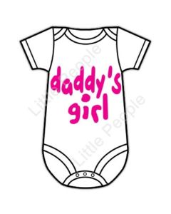 Daddy's Girl 6-12mths Baby Grow Suit