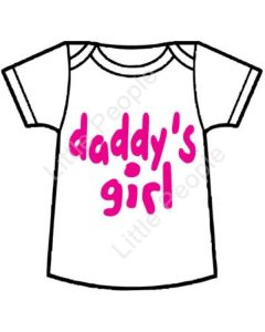 Size 1 year old Daddy's Girl Baby T-Shirt