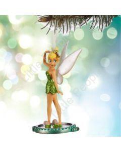Disney 2015 Tinkerbell Tinker Bell on Mirror Sketchbook Ornament Christmas rare