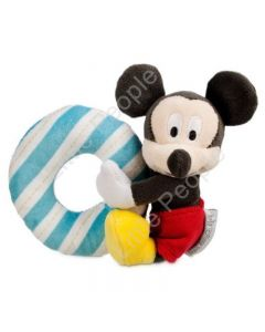 Disney Baby - Mickey Mouse Rattle Blando Baby Soft Toy