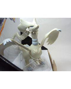 Pokemon Articulated Vinyl Figurine  White Reshiram 7' Length X 5' Tall very rare