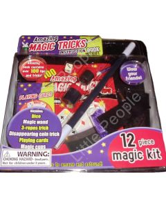 Amazing Magic Tricks Iand instruction Book
