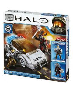Mega Bloks Halo NMPD Police Cru Standoff Set #97452