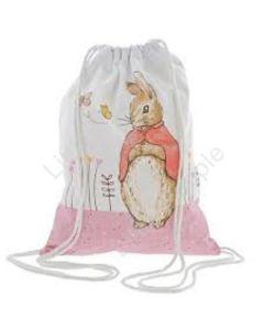 Beatrix Potter Peter Rabbit Flopsy Drawstring Bag A29366