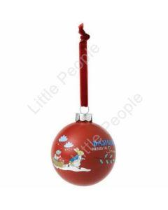 Beatrix Potter Christmas Bauble - Peter Rabbit - 8cm A29526