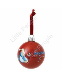Beatrix Potter Christmas Bauble - Mrs. Rabbit & Peter Rabbit - 8cm A29527