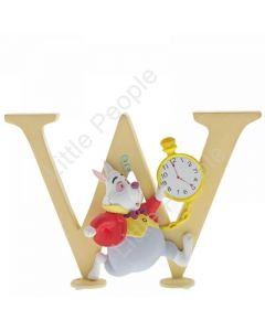 Disney Enchanting Alphabet - W - White Rabbit