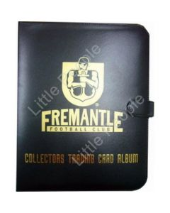 AFL Trading Cards Club Footy Album Folder Freemantle (With 10 pages)