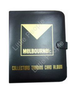 AFL Trading Cards Club Footy Album Folder Melbourne (With 10 pages)