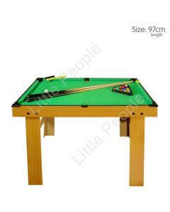 Zest-Pool Table 97cm Legnth cue and balls last one