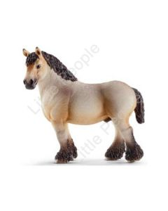 Schleich - 13778 Ardennes Stallion - Horse Equine Farm - RETIRED