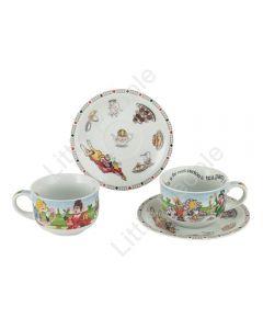 Cardew Design - Alice In Wonderland 235ml/8Fl.oz Tea Party Cup & Saucer (S/2)