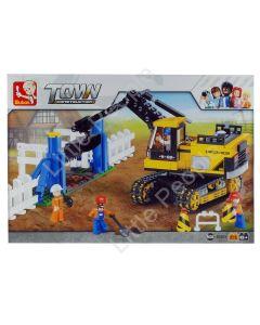 Sluban Compatible -  TOWN Excavator
