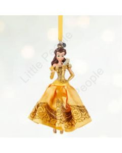 Disney Belle Beauty And The Beast Sketchbook Christmas Tree Ornament 2015