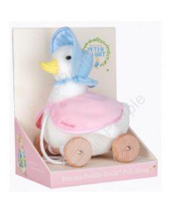 Beatrix Potter Peter Rabbit  Pull Along Toy Jemima Puddle Duck