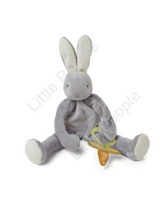 Bunnies By The Bay -  SILLY BUDDY GRAY BLOSSOM BUNNY NEW BABY TOY