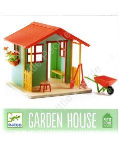 Djeco Modern Doll House- Garden House