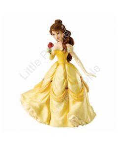 Disney Enchanting Intellectual Beauty Belle Princess Figure Rare  11cm A25912