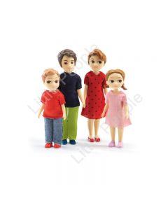 Djeco Modern Doll House -The Thomas & Marion Family