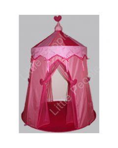 Kids Cubbie Tent - Just Kiddin Fairy Floss Pink  170cm 140cm