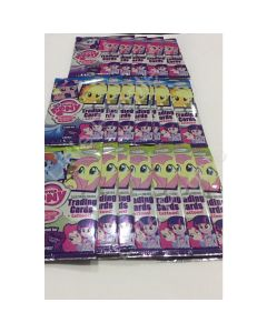 My Little Pony Friendship Is Magic  Trading Cards + Tattoos x 13 packs