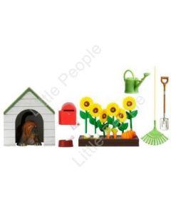 Lundby Smaland dog kennel and aflower Garden