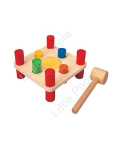 Plan Toys - Hammer Pegs