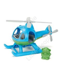 Eco Friendly Green Toys Helicopter Blue