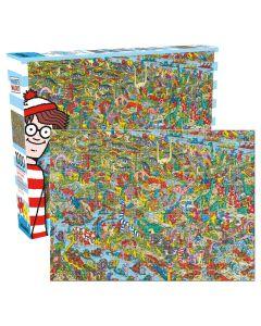 JP Where's Waldo 1000pc Puzzle