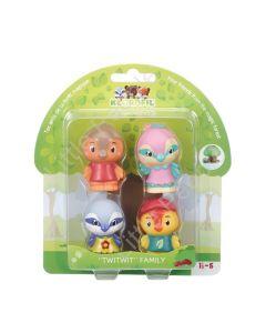 Klorofil Magic Treehouse Twittwit Family 4 Figure Set