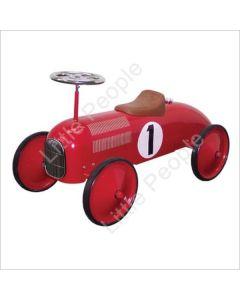 Johnco Ride On Car Speedster Red Steel Toy for kids last ones