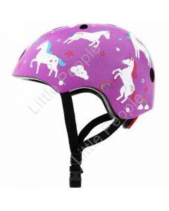 Mini Hornit Lids Kids Bicycle Helmet Unicorn Medium: 53-58cm