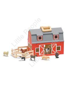 Melissa and Doug  - Fold And Go Barn last one